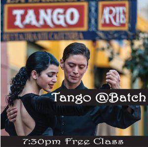 Free Tango @Batch @ Batch Craft Beer & Kolaches