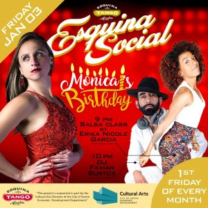 Monthly Esquina Social