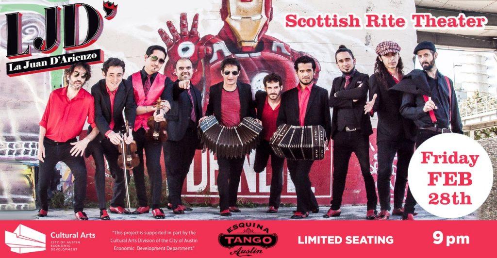 La Juan D'arienzo Grand Milonga @ Scottish Rite Theater